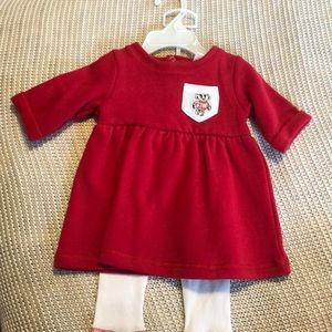 Other - NWT girls Wisconsin Badgers Outfit